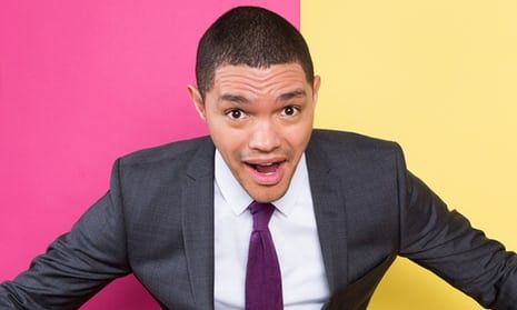 """It's easier to be an angry white man than an angry black man"" - Trevor Noah article in The Guardian"