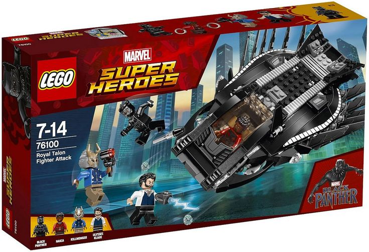 LEGO Marvel Super Heroes 76100 : Royal Talon Fighter Attack