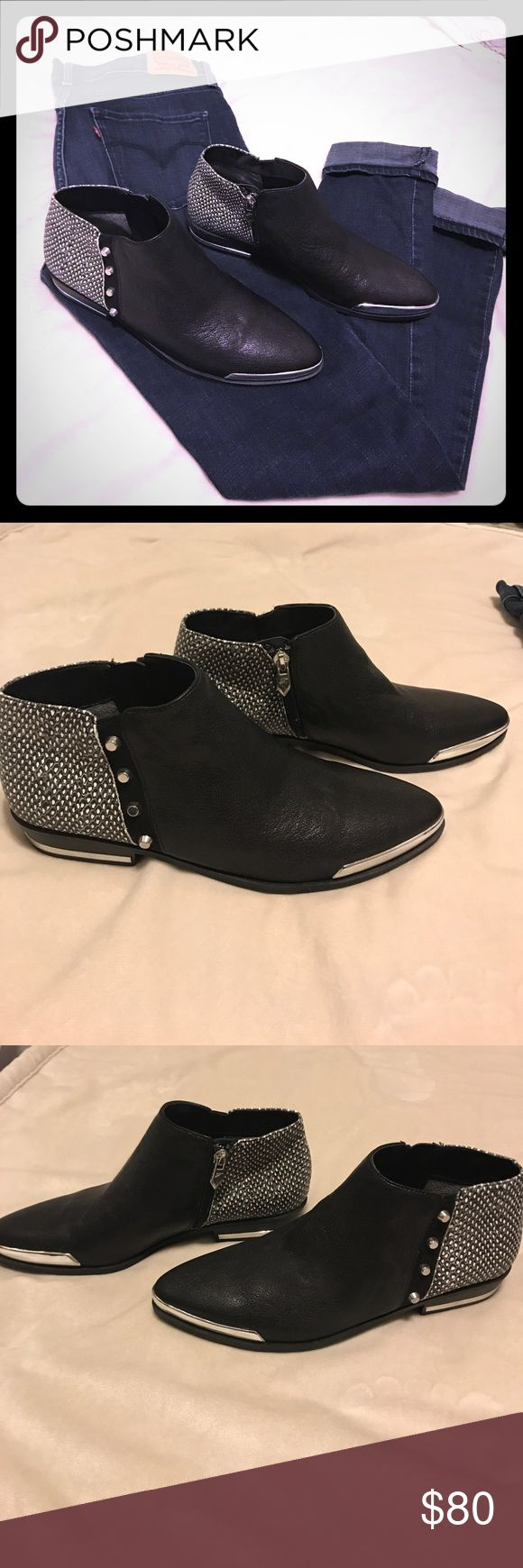 NWOT Fergie Ankle Boots! NWOT These pointed toe, leather ankle boots add the perfect amount of edge to your outfit! ✨will accept reasonable offers✨ Fergie Shoes Ankle Boots & Booties