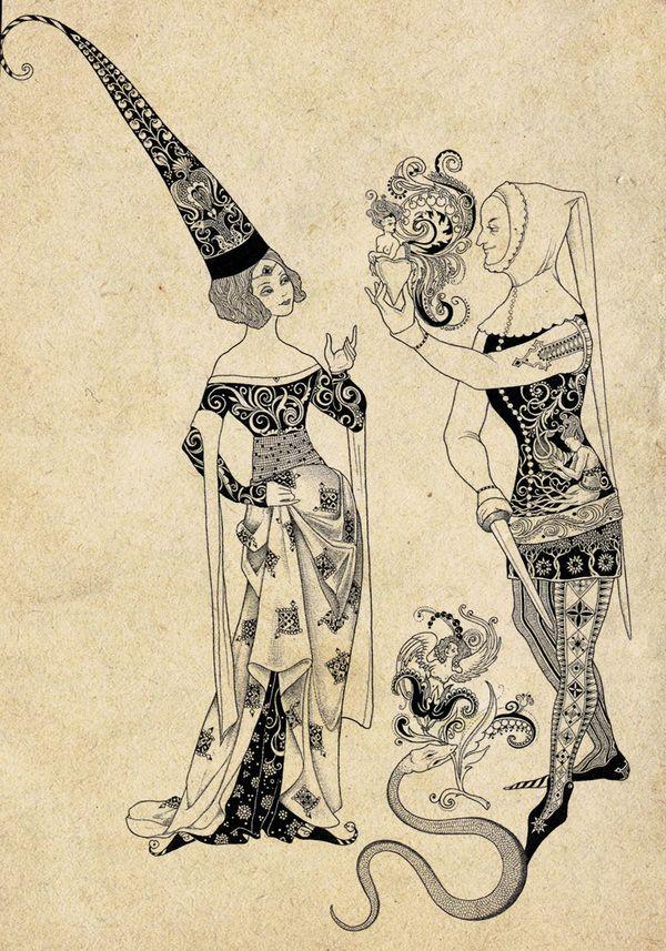 aa951ce28b8e05b7f2cada96f47a490 - Illustrations by Sveta Dorosheva | Art and Design