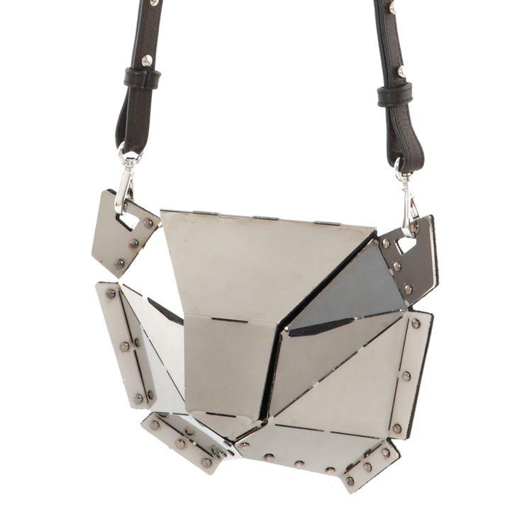 The New XAGUARA Silver Limited Edition Bag by SALAR Milano is available at WWW.FINAEST.COM | #finaest #salarmilano #bag #clutch #fashion #moda #mode #design #salar #designer #leopard