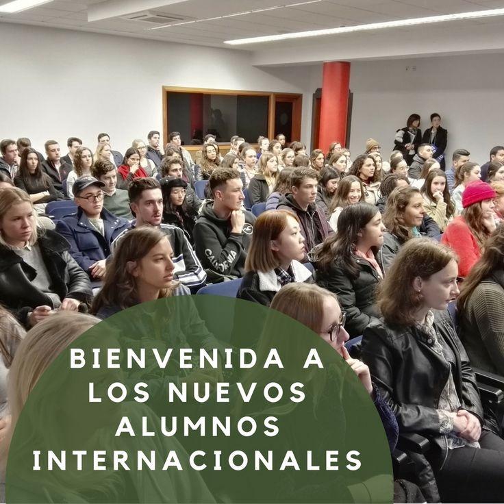 El viernes 2 de febrero tuvo lugar la recepción oficial a los cerca de 118 alumnos internacionales que se han desplazado a San Sebastián para estudiar este segundo semestre en el campus donostiarra de la Universidad de Deusto.