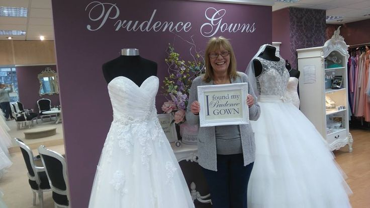Our new #bride Beverley found her #weddingdress in our #Plymouth store today. YAY! #DressingYourDreams #PrudenceGowns