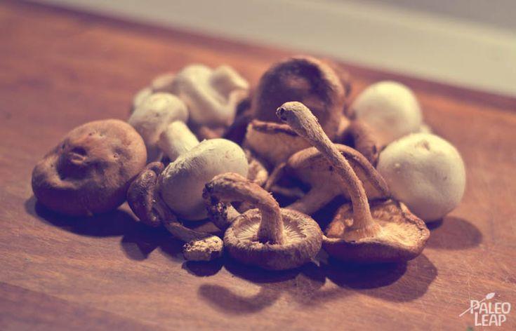 Paleo Bordelaise Sauce with Mushrooms