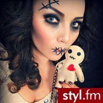 #halloween #costume #Makeup #voodoo doll