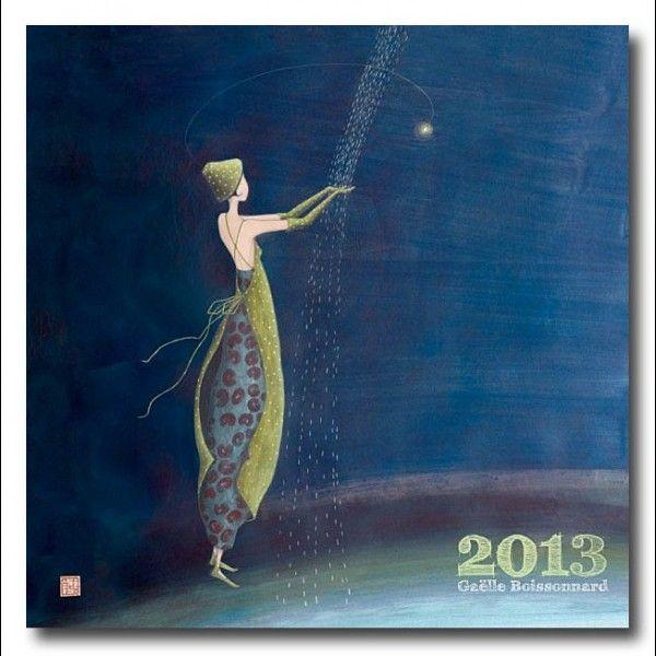 """Gaëlle Boissonnard : Calendrier 2013 """"Pluie de lumière"""""""