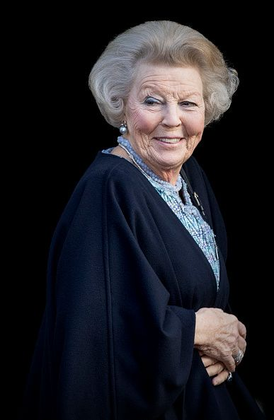 Princess Beatrix of the Netherlands at the new year reception at the royal palace on January 17, 2017 in Amsterdam, Netherlands.      Prin...