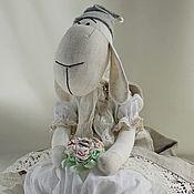 Для дома и интерьера ручной работы. Ярмарка Мастеров - ручная работа Пакетница овечка с стиле прованс.. Handmade.