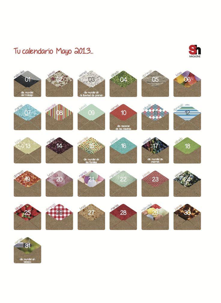 Calendario para revista Sh Magazine