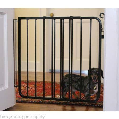 Metal swinging pet gates
