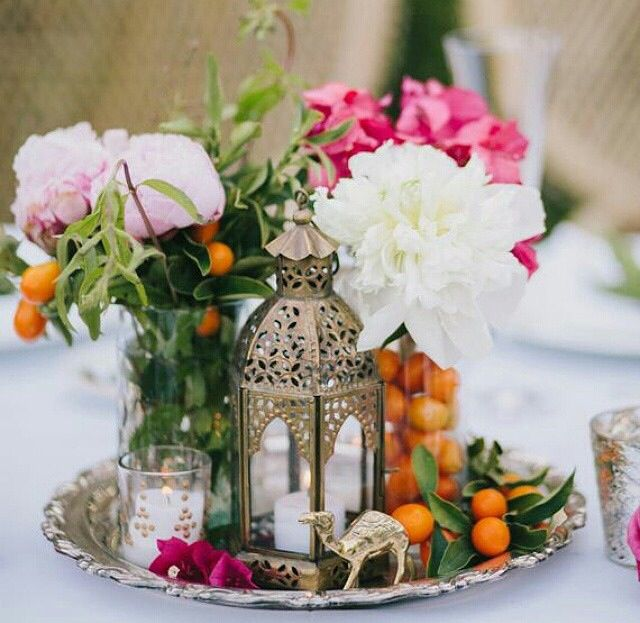 Indian Wedding Inspirations - Centerpiece Ideas & Decorations for Weddings! - 59 Best Indian Wedding Centerpieces & Table Decorations Images On