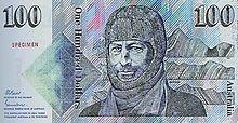 Australian $100 decimal paper note - Front.
