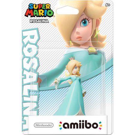 Rosalina Super Mario Bros Series amiibo (Wii U), Multicolor