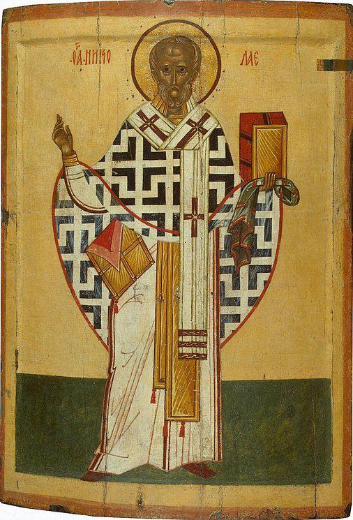 Icon: St Nicholas Thanks for posting... Κύριε Ἰησοῦ Χριστέ, Υἱὲ τοῦ Θεοῦ, ἐλέησόν με τὸν… The Eastern Orthodox Facebook: https://www.facebook.com/TheEasternOrthodox Pinterest The Eastern Orthodox: http://www.pinterest.com/easternorthodox/ Pinterest The Eastern Orthodox Saints: http://www.pinterest.com/easternorthodo2/