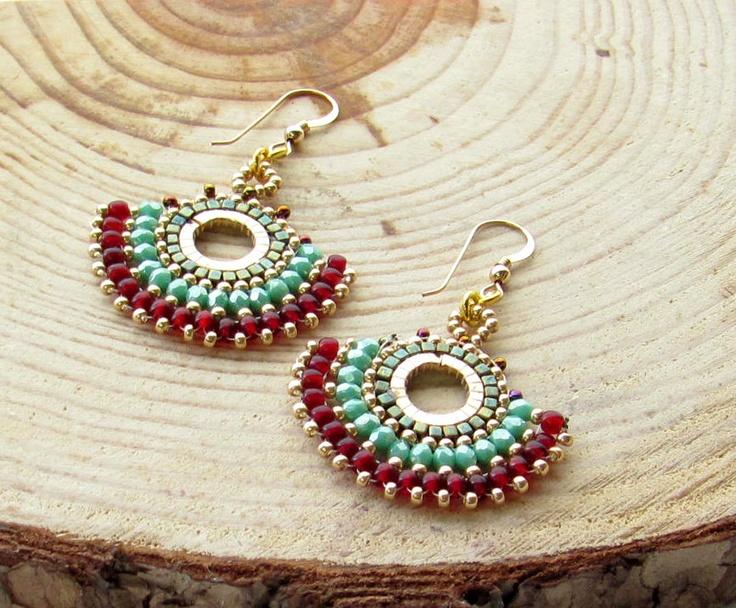 Bead work Earrings