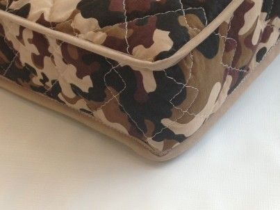 Camoflauge mattress for a BOY - SINGLE BED FULLY SPRUNG MATTRESS 200 x 90 x 10 cm with quilted washable cover