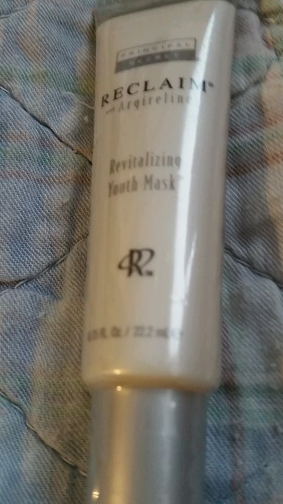 Sleep with this mask on twice a week I look half my age Reduced for quick sale--Principal Secret Reclaim Revitalizing Youth Mask