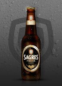 Sagres Preta  País: Portugal  Empresa: Sagres Cerveja  Tipo de elaboración: Industrial | Portugal - Industrial  Tipo: Dark Lager | Portugal - Dark Lager  Graduación: 4,1%