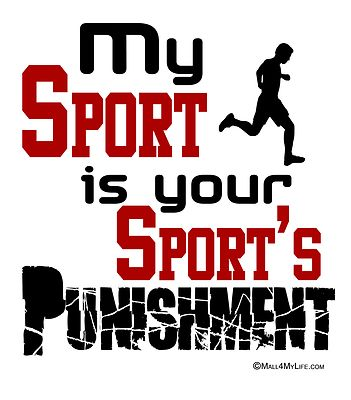 My Sport is Your Sport's Punishment