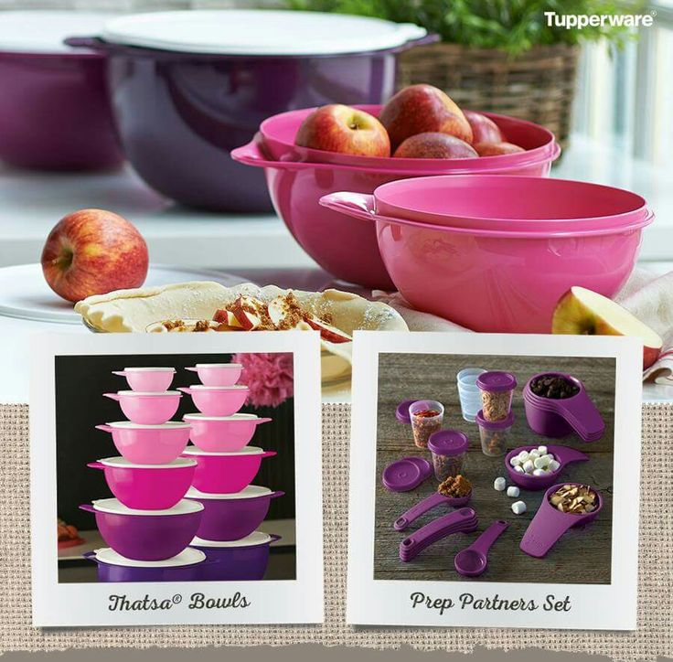 Exclusive Pink and Purple Tupperware. Order today through this link to my Tupperware shop These items go away tomorrow. These all make great gifts for a holiday hostess, baker, or any special person in your life! Colors are so much prettier in person!online http://www.tupperware.com/?party=562ba416b4f0777a5116a329