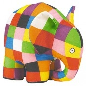 Elmer Soft Toy