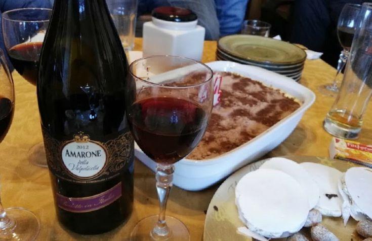 En Navidad encontramos en Lidl este vino Amarone della Valpolicella Classico, in vino italiano del valle de Verona. Un vino distinto, para postres y risotto