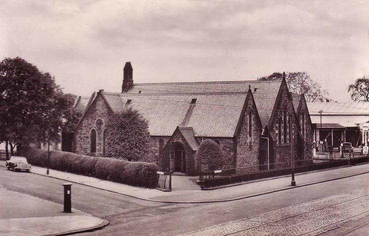 Cardonald Parish Church, Paisley Road West, Glasgow, in the 1960's.