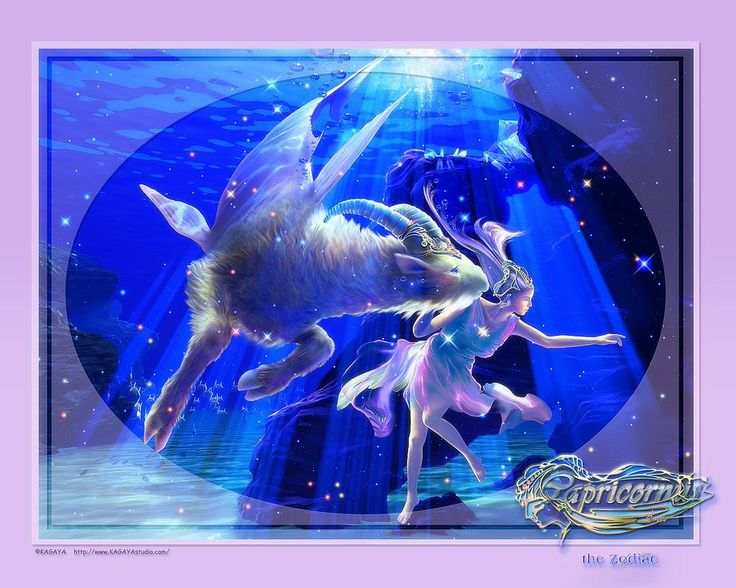 The Capricornus - The Zodiac by Kagaya Upotetun kuvan pysyvä linkki