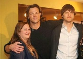 Sherry, Jared and Jeff Padalecki