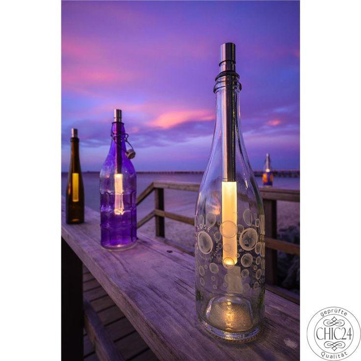 Flaschenlicht Bottlelight Campingleuchte LED-Licht - chic24 - Vintage Möbel und Industriedesign Lampen Online kaufen, € 22,90