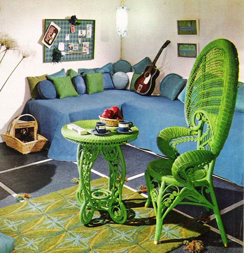 23 Fabulous Vintage Teen Girls Bedroom Ideas: 520 Best Images About Retro Rooms On Pinterest