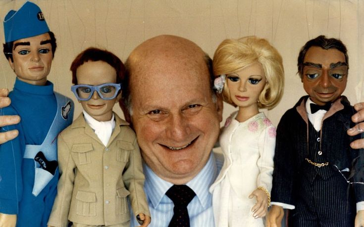 Gerry Anderson, MBE 14 April 1929 – 26 December 2012) was an English publisher, producer, director & writer, He entertained generations of British children with a string of futuristic puppet series for television in the 1960s, including Thunderbirds, Joe 90 and Fireball XL5.