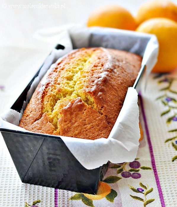 Łatwe ciasto pomarańczowe