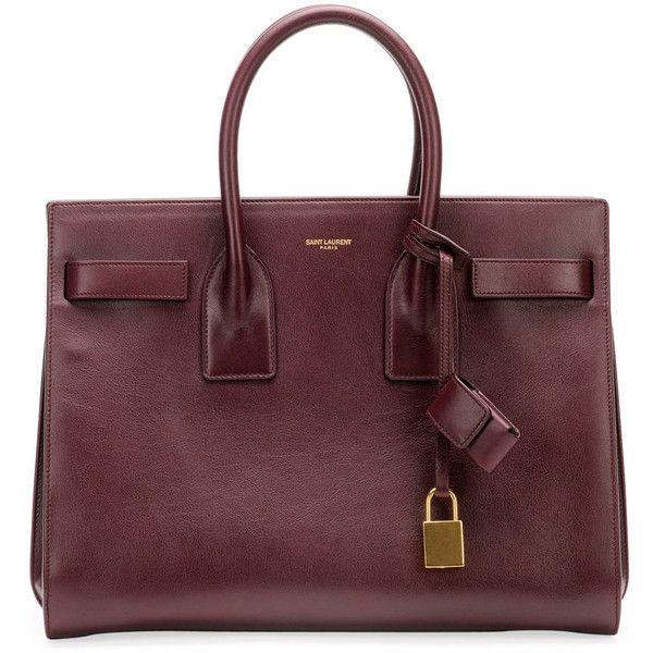 Saint Laurent Sac De Jour Small Carryall Bag found on Polyvore