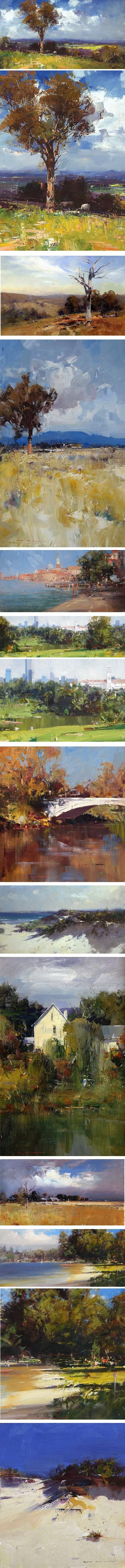 Ken Knight, Australian plein air painter