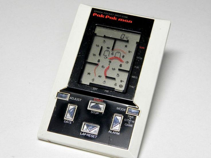 80s Retro Epoch LCD Game Watch Pak Pak Man (Pac Man) MIJ 1981 Great Condition_33 | eBay