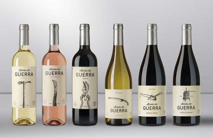 The Dieline Awards 2015: 2nd Place Wine, Champagne: Armas de Guerra — The Dieline - Branding & Packaging