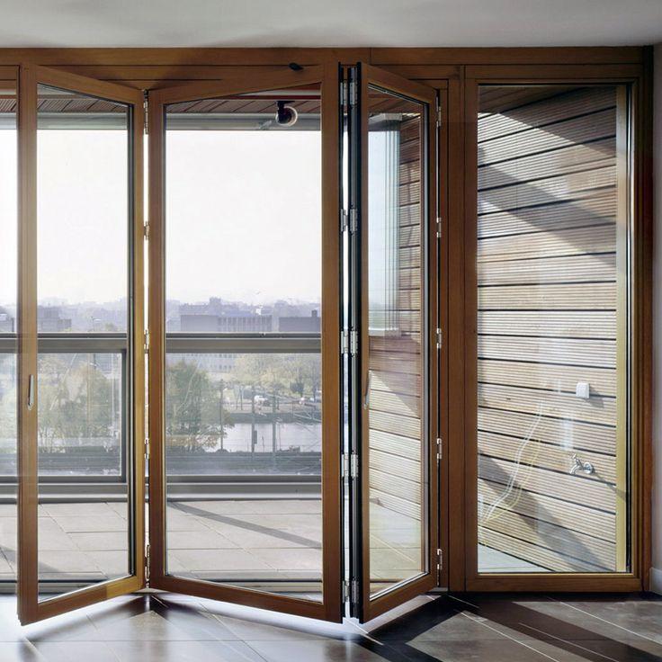 Resultado de imagen para ventanales de termopanel plegables