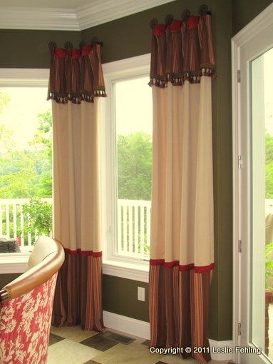 Everyday Artist: Casual Drapery Panels With Custom Styling