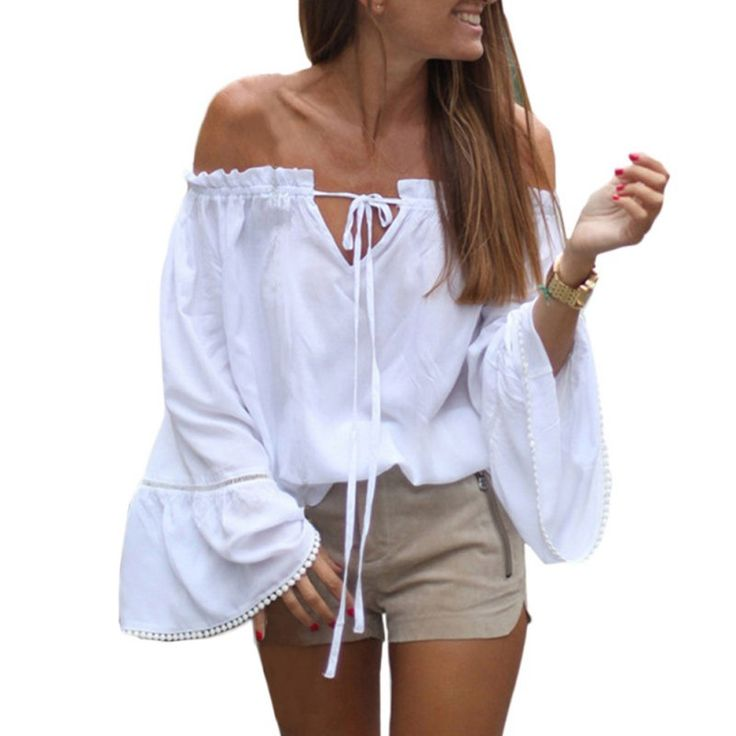 Cheap top 10 polo shirts, Buy Quality shirt cover directly from China top 10 winter cars Suppliers: Summer Sexy Slash Neck Ruffles Women Tops Tees Off Shoulder Female Blouses White Shirts Top Plus Size S-XXL