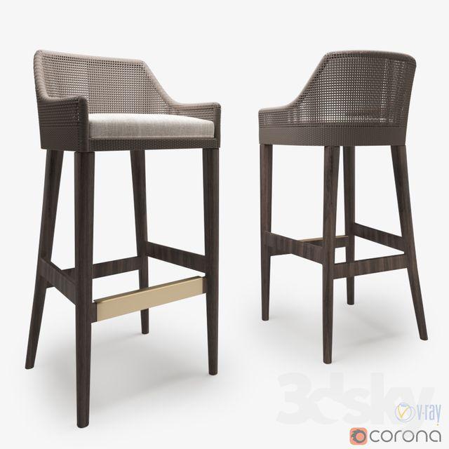 3d Models Chair Pacelek Vincent Barstool Bar Stools Chair