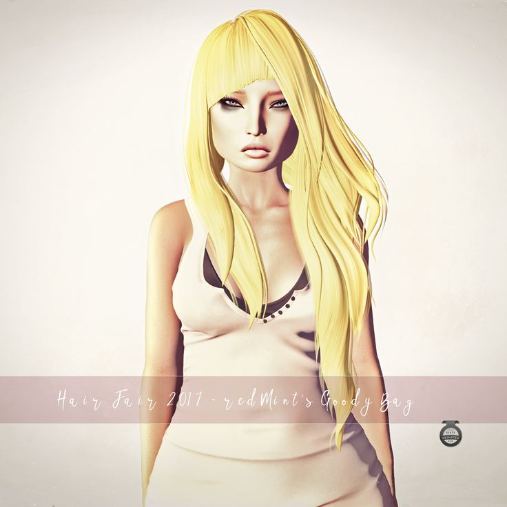 https://flic.kr/p/WtELx3 | Goody Bag @ Hair Fair 2017 | redMint's Goody Bag @ Hair Fair 2017 (July 1st - 16th) maps.secondlife.com/secondlife/Iridium/182/104/24   Exclusive color, as seen in the picture. ☑Bento Fit  ☑Bento Animated > more info   ☑Join Hair Fair DEMO Group ///app/group/2e30d166-f3e5-e2de-ff72-b3da2d06ded2/   __________________________________________________ One more week to go, don't miss out redMint's Goody Bag!