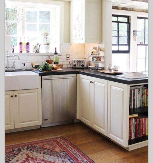 Cookbook Storage Idea Kitchen Decor Pinterest