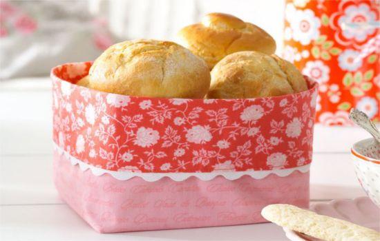 Mit unserer kostenlosen Anleitung kannst Du Dir ganz einfach Deinen eigenen Brotkorb nähen!