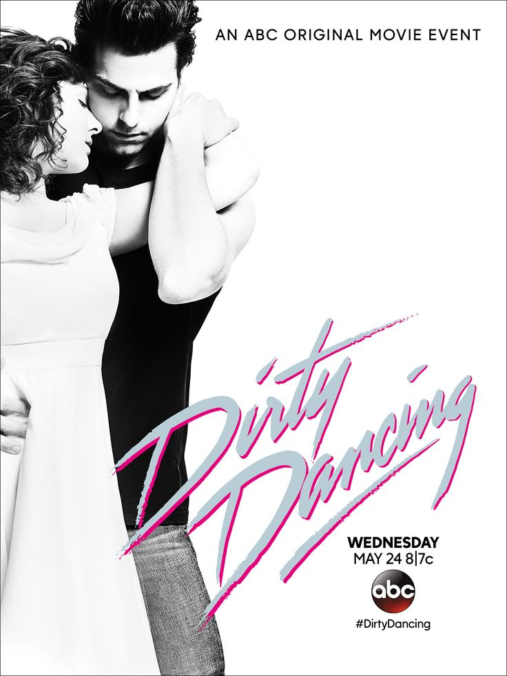 ABC's 'Dirty Dancing' remake poster features Abigail Breslin and Colt Prattes striking an iconic pose from the 1987 original