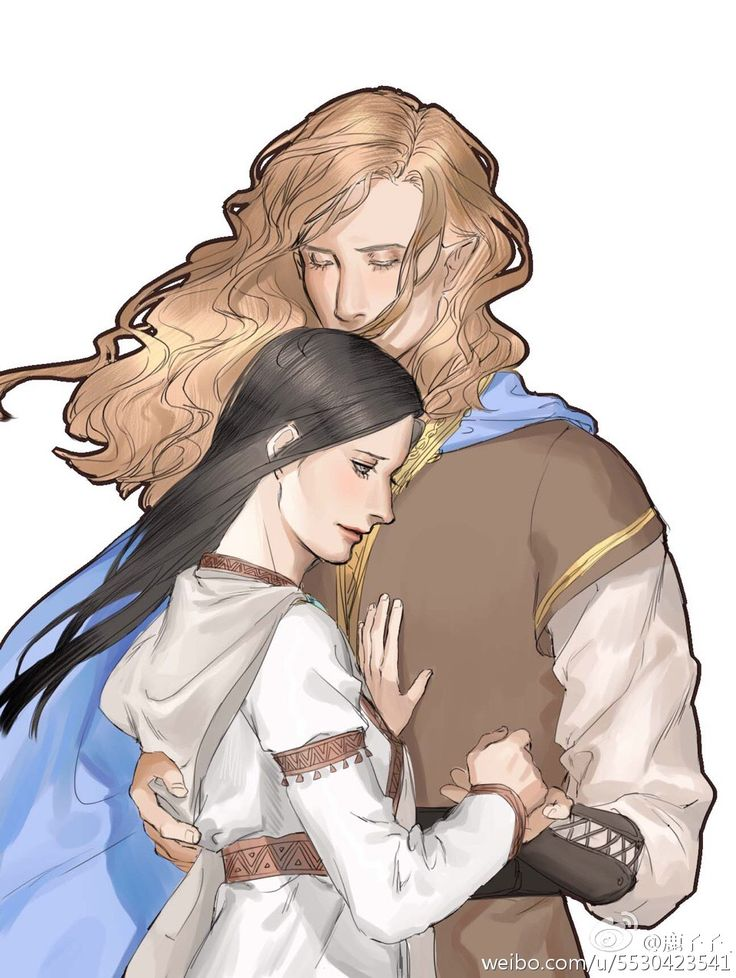 Aegnor and Andreth---aughhhh... I'm crying now...