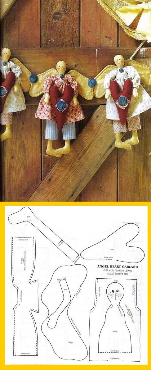 free cloth Angels pattern