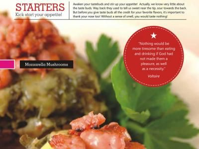 Starters - Awaken your tastebuds and stir up your appetite