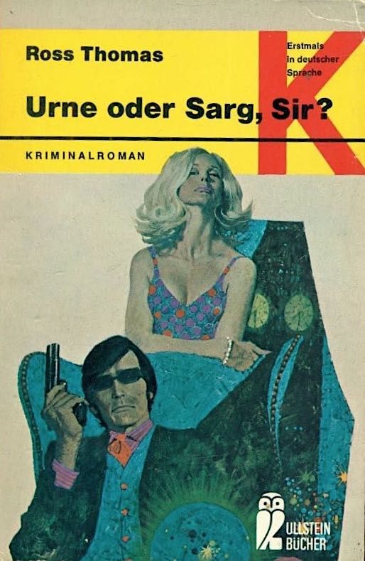 Cover Robert McGinnis, auf Deutsch | #pulpcovers