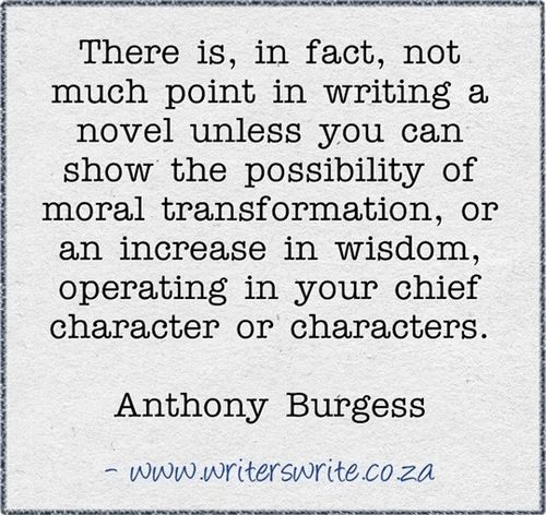 Tony Greenstein Blog: Anthony Burgess Quotes. QuotesGram
